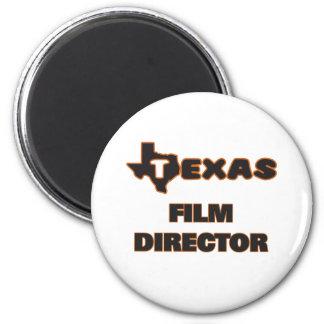 Texas Film Director 2 Inch Round Magnet