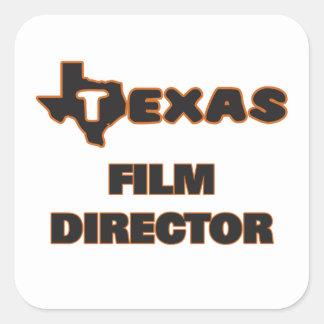Texas Film Director Square Sticker