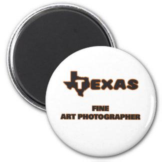 Texas Fine Art Photographer 2 Inch Round Magnet