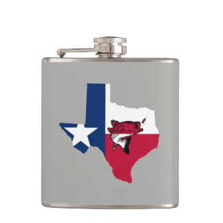 Texas Fishing Hip Flask