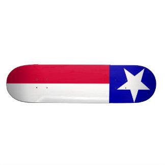 Texas Flag 20 Cm Skateboard Deck