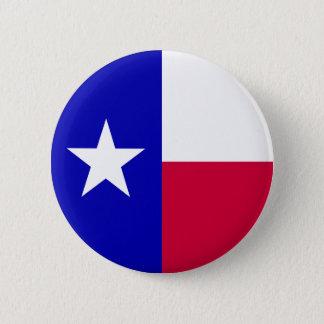 Texas Flag 6 Cm Round Badge