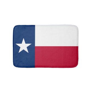 Texas flag bath mat | Texan bathroom rug Bath Mats