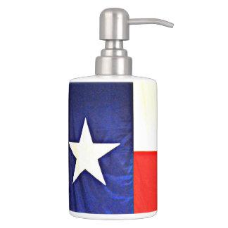 Texas Flag Bathroom Set
