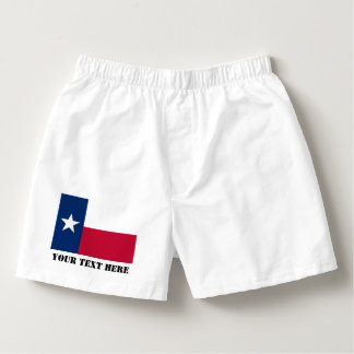 Texas flag boxer shorts and Texan pride briefs Boxers