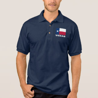 Texas flag custom polo shirts for men and women