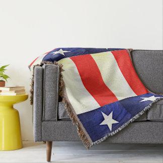 Texas Flag Custom Throw Blanket