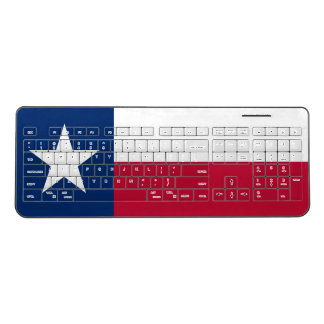 Texas flag custom wireless keyboard for pc or tv