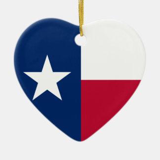 Texas Flag Christmas Ornaments