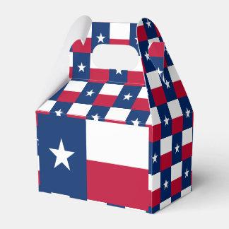 Texas Flag Favour Box