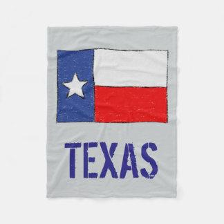 Texas Flag Fleece Blanket