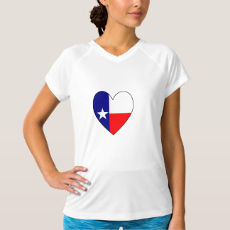 Texas Flag Heart T-Shirt