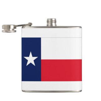 TEXAS FLAG HIP FLASK