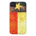 Texas Flag iPhone 4/4S Barely There™ iPhone 4 Case-Mate Cases