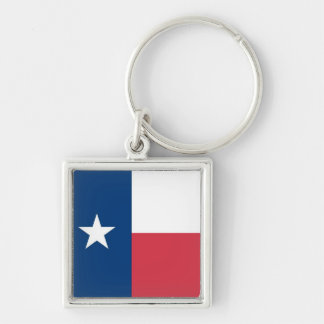 Texas Flag Key Chain