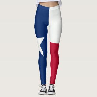 Texas Flag leggings