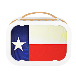 Texas Flag Lunch Box