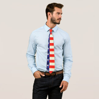 Texas Flag Men's Tie