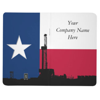 Texas Flag Oil Drilling Rig Journal