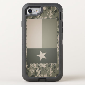 Texas Flag on Digital Camo iPhone Case