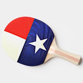 Texas Flag Ping Pong Paddle