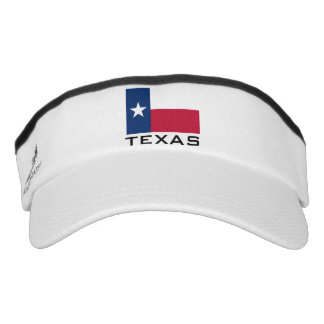 Texas flag sports sun visor cap hat