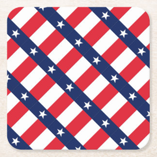 TEXAS FLAG SQUARE PAPER COASTER