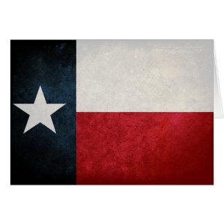 Texas Flag; Texan; Card