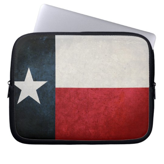 Texas Flag; Texan; Laptop Sleeve