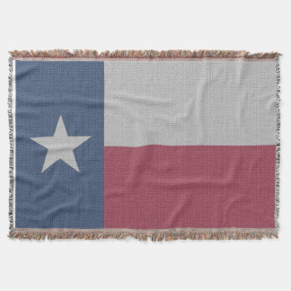 Texas Flag Throw Blanket