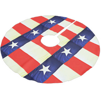 Texas Flag Tree Skirt