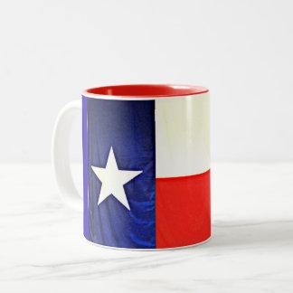Texas Flag Two Tone Mug