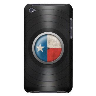 Texas Flag Vinyl Record Album Graphic iPod Case-Mate Case
