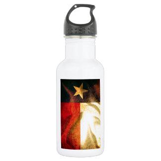 Texas Flag waving silk 532 Ml Water Bottle