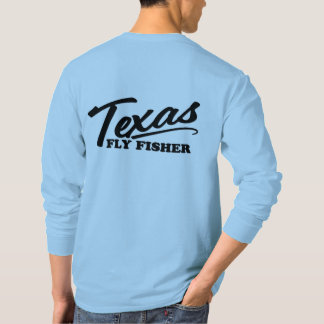 Texas Fly Fisher Casual Long Sleeve Casting Tee