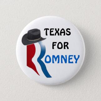 Texas for Romney 6 Cm Round Badge