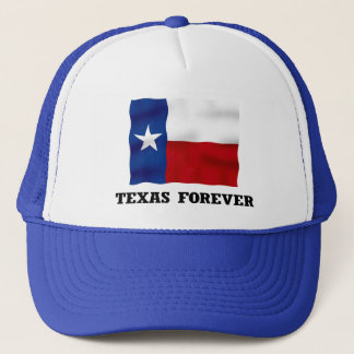 TEXAS FOREVER - Blue Trucker Hat