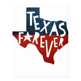 Texas Forever Postcard