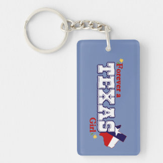 Texas Girl Key Ring