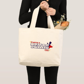 Texas Girl Large Tote Bag