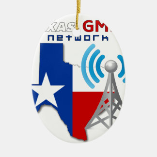 Texas GMRS Network Ceramic Ornament