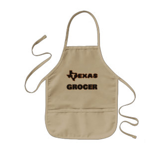 Texas Grocer Kids' Apron