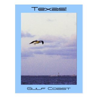Texas Gulf Coast Postcard