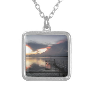 Texas Gulf Silver Plated Necklace