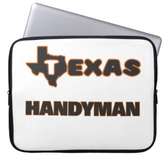 Texas Handyman Laptop Computer Sleeves