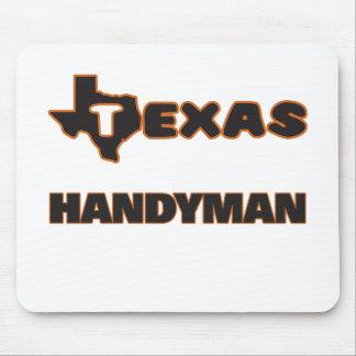 Texas Handyman Mouse Pad
