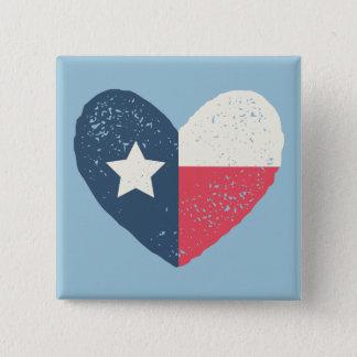 Texas Heart Flag Pin w/TEXAS