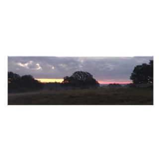 Texas Hill Country Sunrise Art Photo