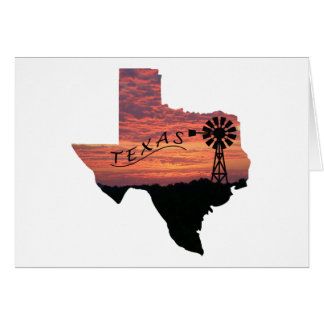 Texas Hill Country Sunrise Greeting Cards