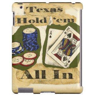 Texas Hold 'Em Hand with King and Ace